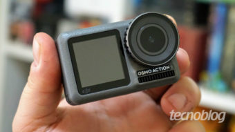 DJI Osmo Action: preocupação de peso para a GoPro