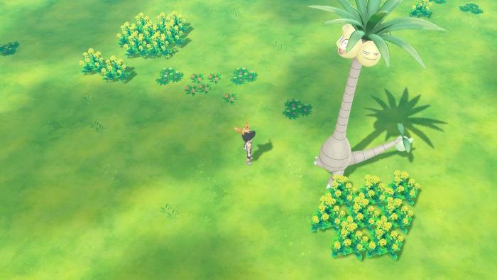 Pokémon GO Park em Let's Go