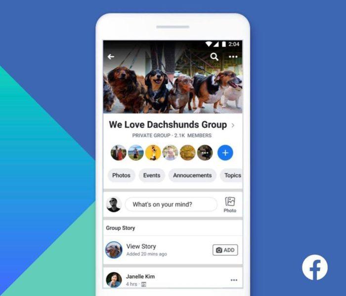 Facebook wird Gruppengeschichten weniger als ein Jahr nach der Veröffentlichung von 1 beenden