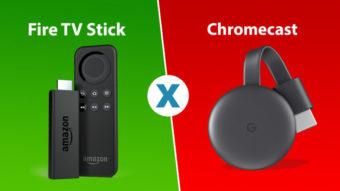 Fire TV Stick ou Chromecast, qual é o melhor?
