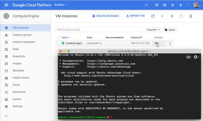 Google Cloud Platform / Como criar uma máquina virtual na nuvem