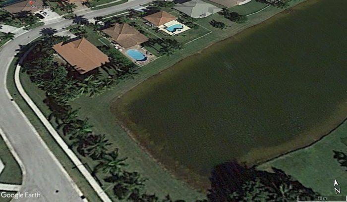 Imagem de Grand Isles, Google Earth, 2016