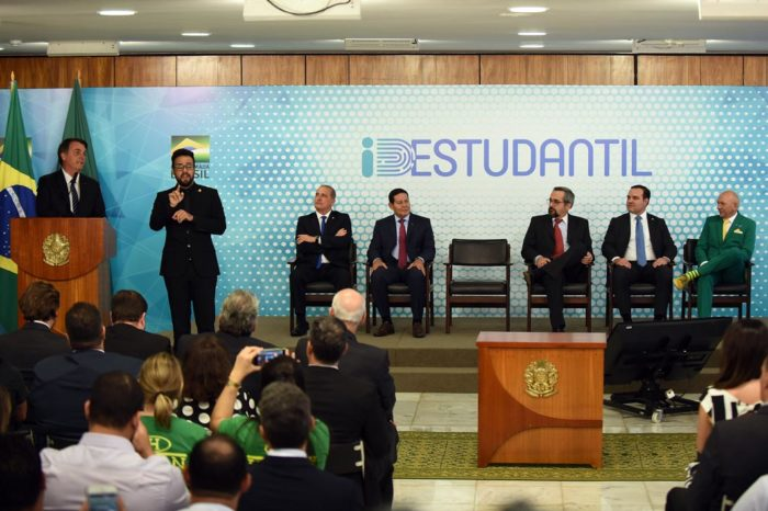 Governo federal lança ID Estudantil (Foto: Gabriel Jabur/MEC - 06/09/2019)