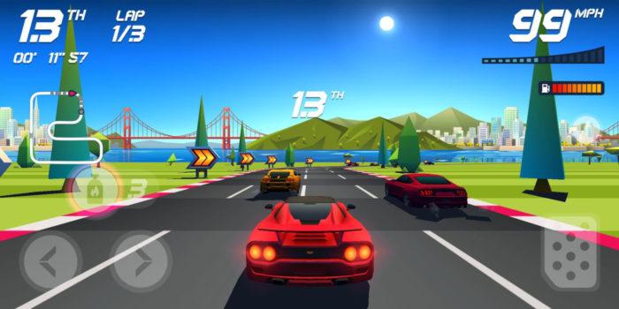 Aquiris Game Studio / Horizon Chase / jogos de carro offline