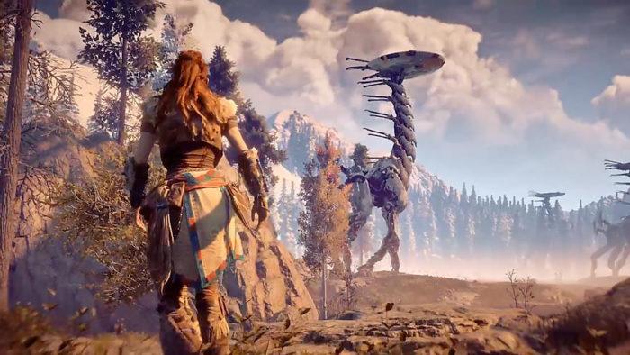 Guerilla Games / Horizon: Zero Dawn / jogos de mundo aberto offline