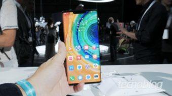 Huawei Mate 30 é feito sem qualquer peça produzida nos EUA