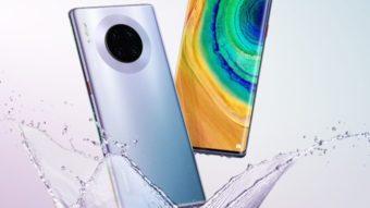 Huawei Mate 30 Pro surge com tela mais curvada e câmera frontal tripla