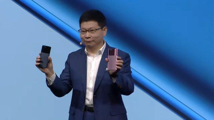 Huawei P30 Pro Misty Lavender e Mystic Blue - apresentação