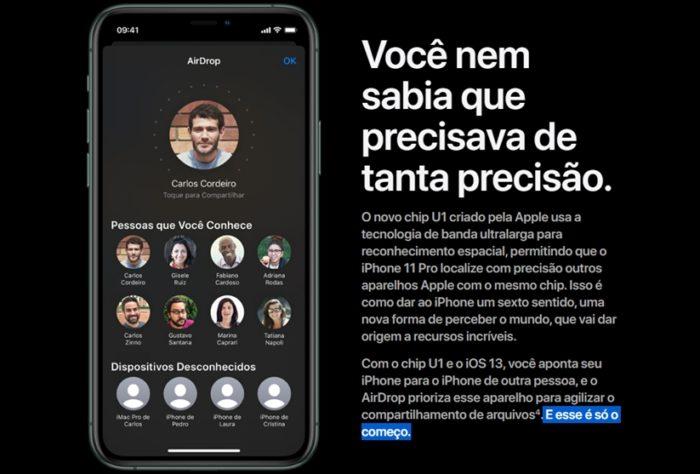 iPhone 11 Pro - AirDrop