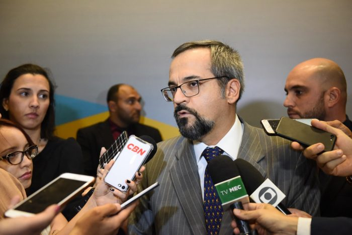 Ministro da Educação, Abraham Weintraub (Foto: Luis Fortes/MEC - 04/09/2019)