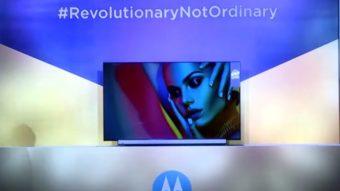 Motorola anuncia seis TVs com Android e soundbar integrada