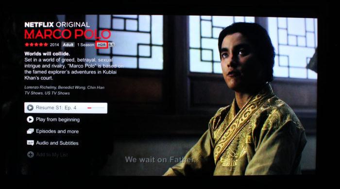 Netflix com HDR10 / Netflix com Dolby Vision