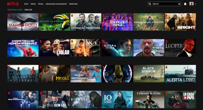 Netflix / conteúdos Ultra HD / netflix em dolby vision