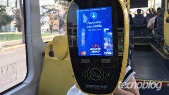 Ônibus de SP aceitarão pagamento via NFC com cartão ou celular