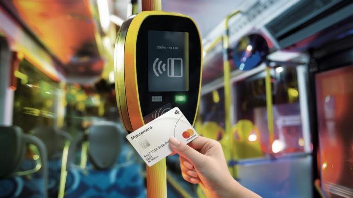 NFC em ônibus em São Paulo