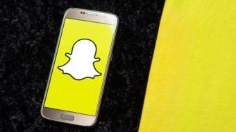 Como gravar vídeos no Snapchat