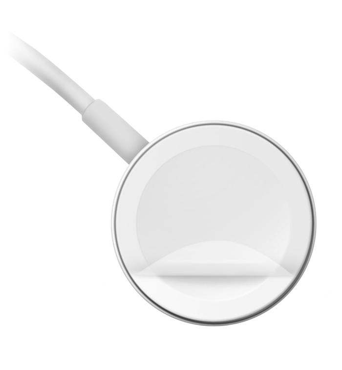 remover plásticos do carregador magnético do apple watch