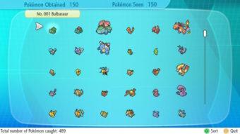 Como ter a Pokédex completa em Pokémon Let's Go