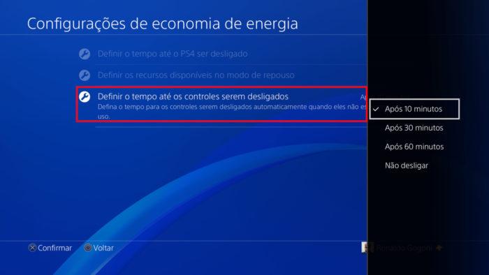 PS4 / como desligar controle ps4
