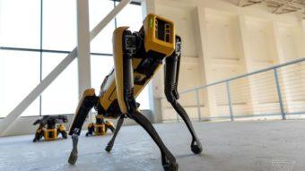 Spot, o impressionante cão-robô da Boston Dynamics, já está à venda
