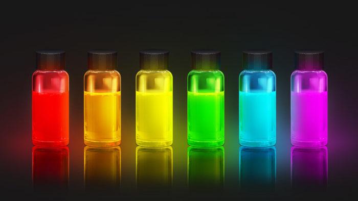 Samsung / soluções de pontos quânticos / triluminos