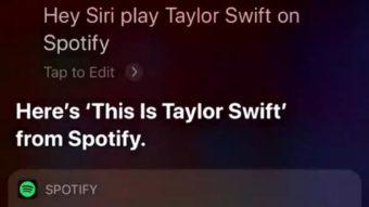 Spotify testa integração com a Siri no iOS 13 em versão beta