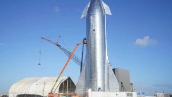 SpaceX revela protótipo do Starship, foguete para viagens à Lua e Marte