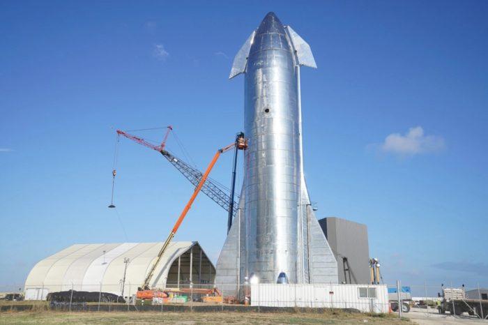 SpaceX Starship Mk1 (foto: Darrell Etherington / TechCrunch)