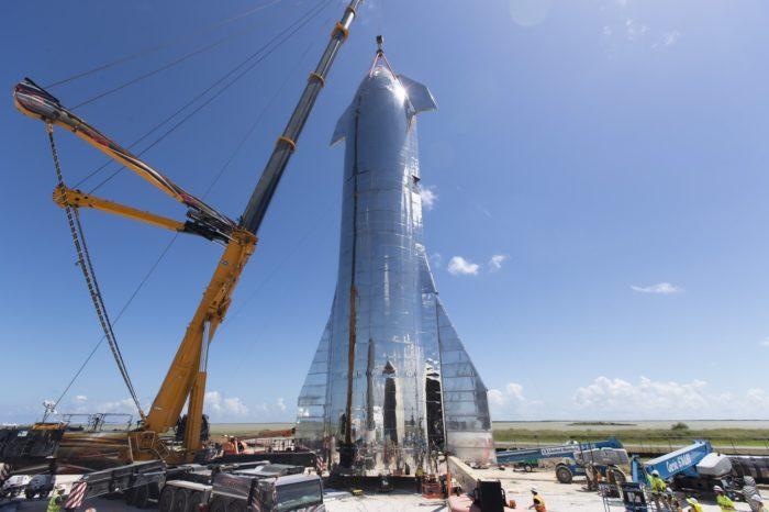 SpaceX Starship Mk1 (foto: SpaceX)