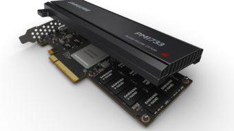 """SSDs Samsung PM1733 e PM1735 têm até 30 TB e tecnologia """"antimorte"""""""