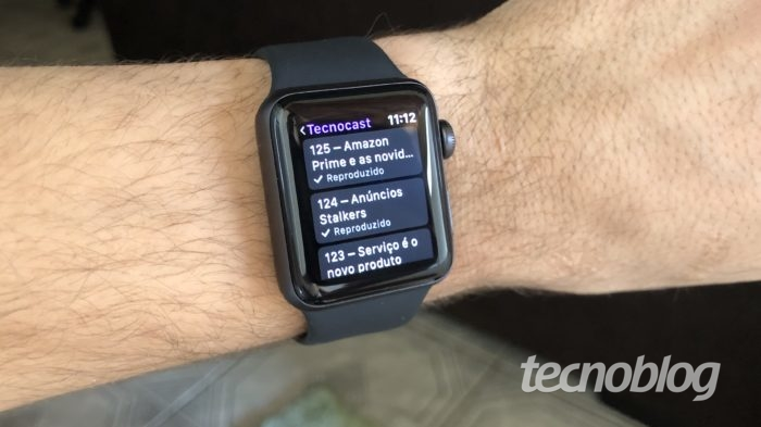 podcast no apple watch