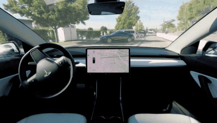 Tesla - update de software