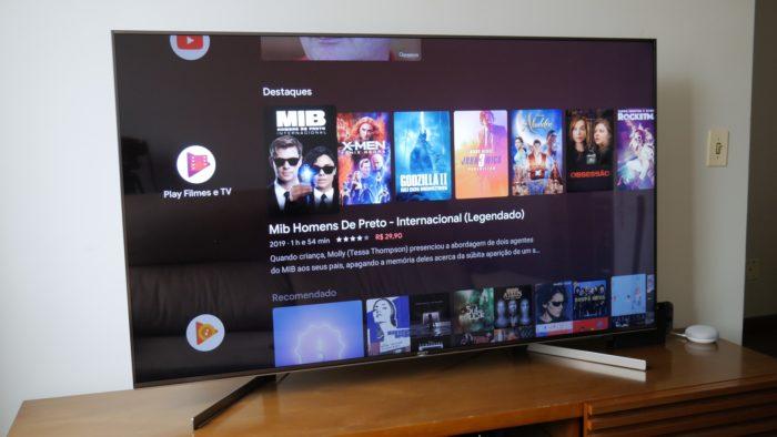 TV 4K Sony X955G (Imagem: Paulo HIga / Tecnoblog)