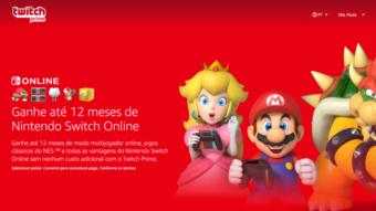 Amazon Prime oferece 12 meses grátis de Nintendo Switch Online