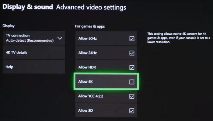 Configurações de vídeo / comprar xbox one