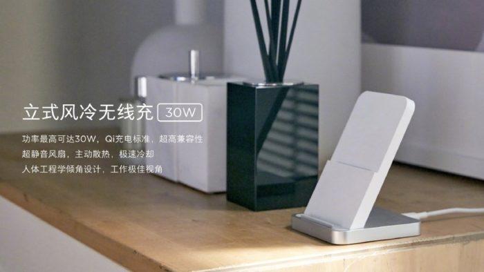 Carregador sem fio de 30 W da Xiaomi (Imagem: Xiaomishka)