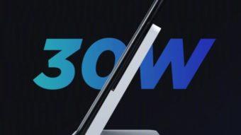Xiaomi Mi Charge Turbo promete recarga sem fio rápida de 30 W