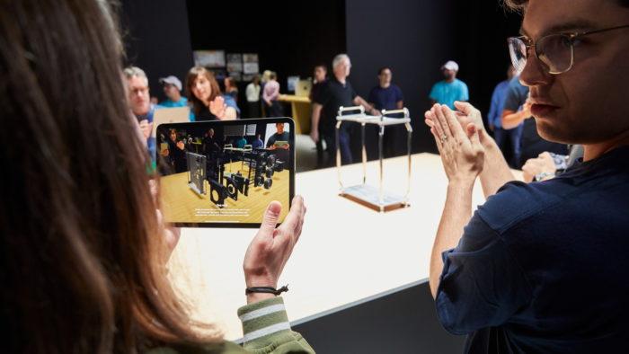 Apple e realidade aumentada