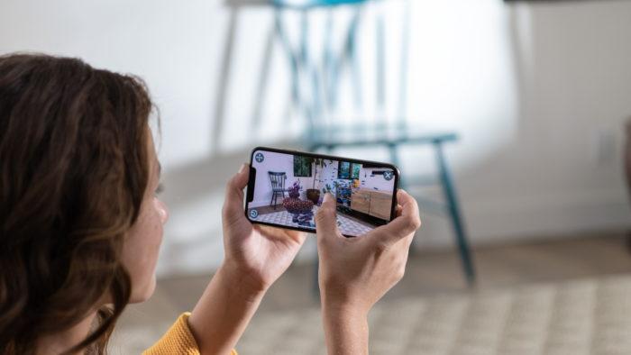 iPhone XS e realidade aumentada