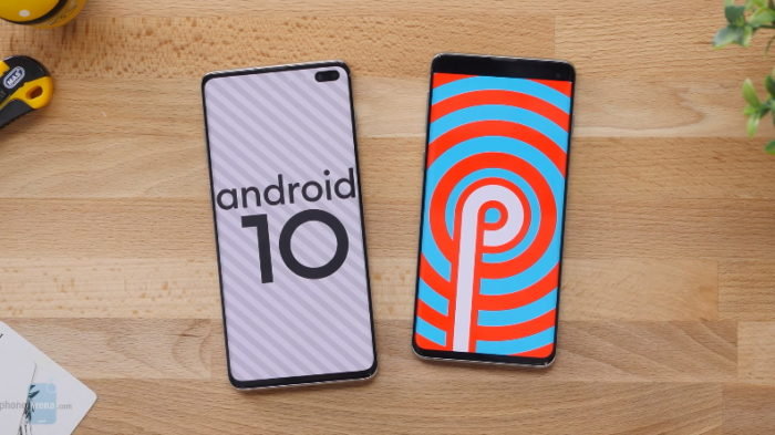 Samsung Galaxy S10+ com Android 10