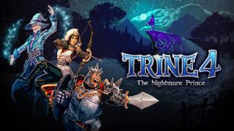 Trine 4: The Nightmare Prince - Puzzles dinâmicos e belos cenários