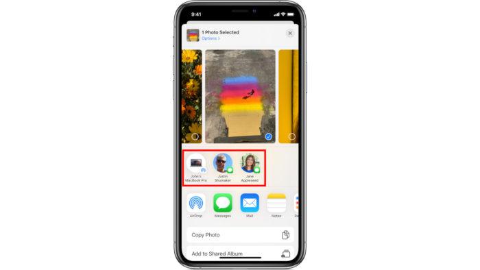 Apple / AirDrop no iPhone / o que é airdrop