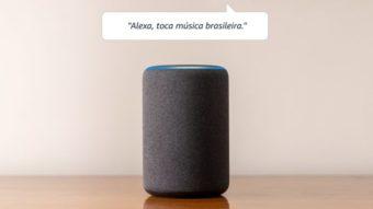 Amazon lança alto-falantes Echo, Echo Dot e Echo Show 5 com Alexa no Brasil