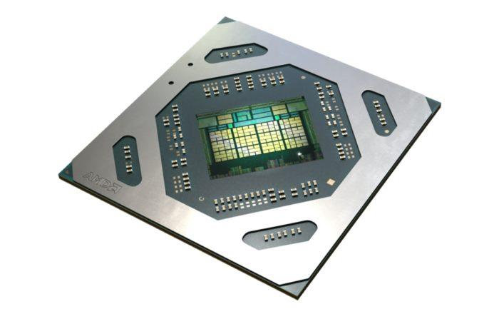 AMD Radeon RX 5500 - chip