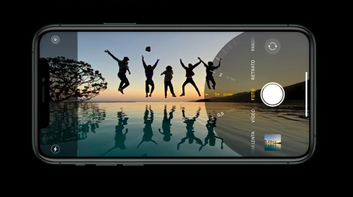 aplicativo câmera do iPhone 11