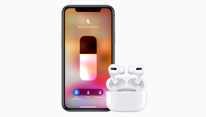 Apple AirPods Pro e iPhone