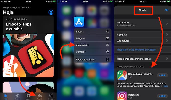 guia de atualizações na app store substituída por apple arcade