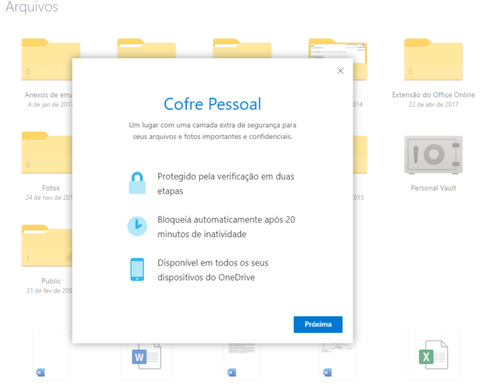 Microsoft Cofre Pessoal