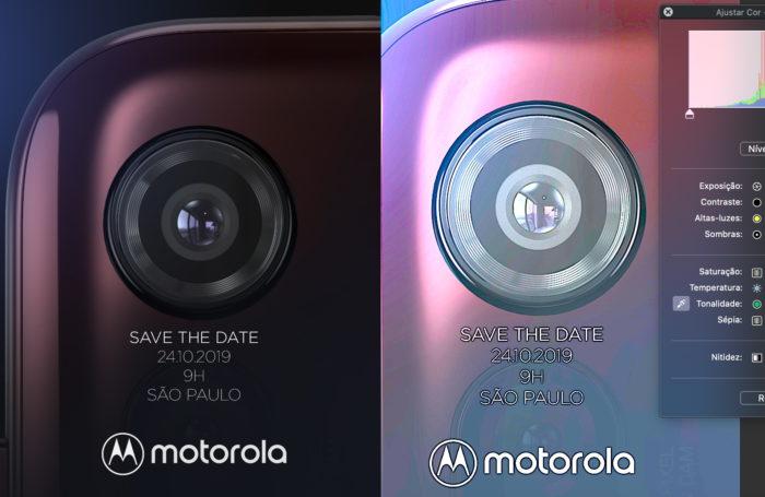 Convite Motorola One Macro