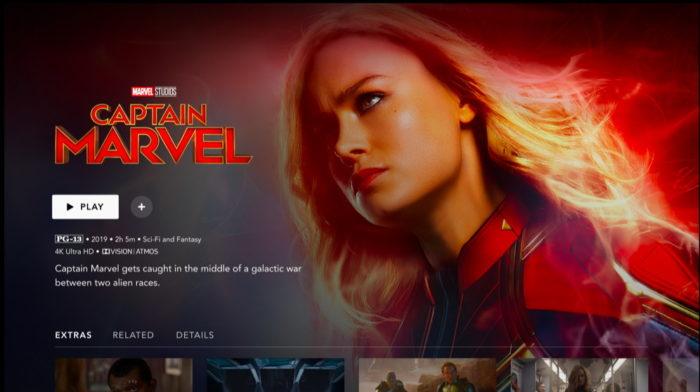 Disney+ Capitã Marvel